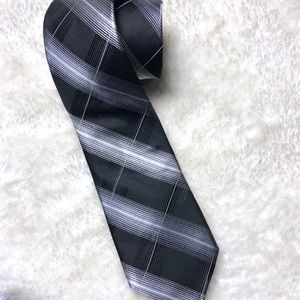 Michael Kors Accessories - Michael Kors | Black Grey Plaid Tie